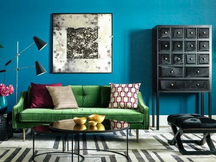 How to use colour at home jewel tone colours in interior design