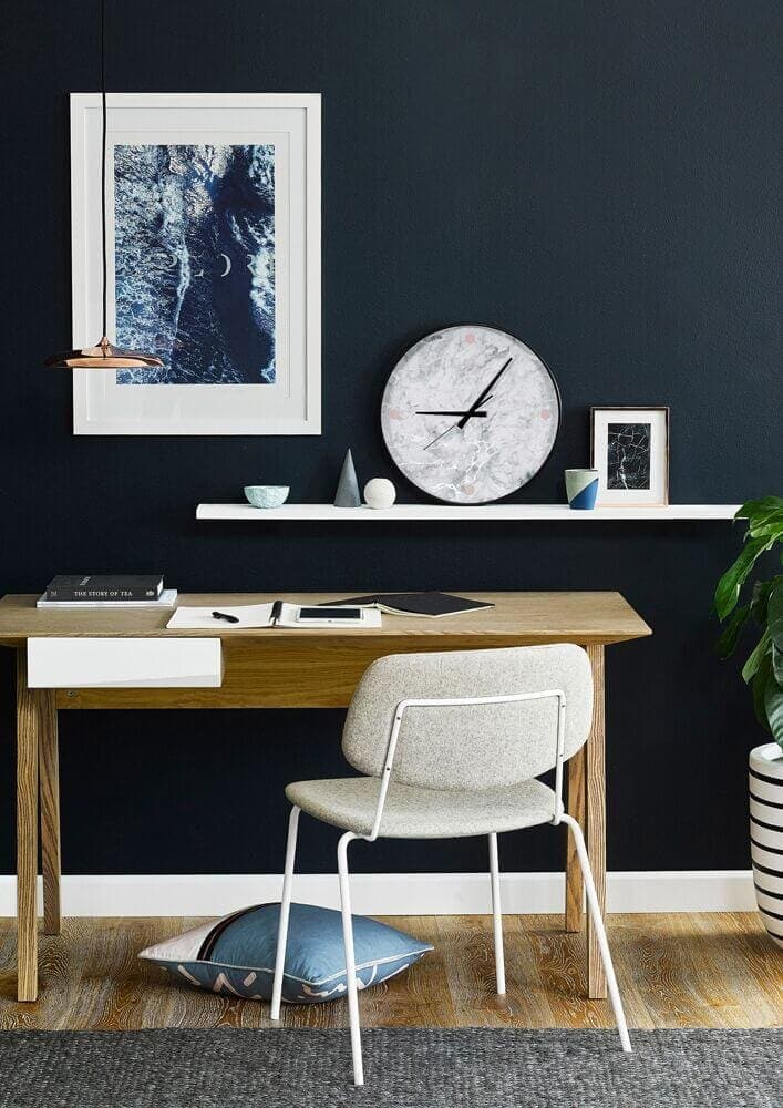 Modern Muse clock and Wall art from Art Club Concept The Life Creative