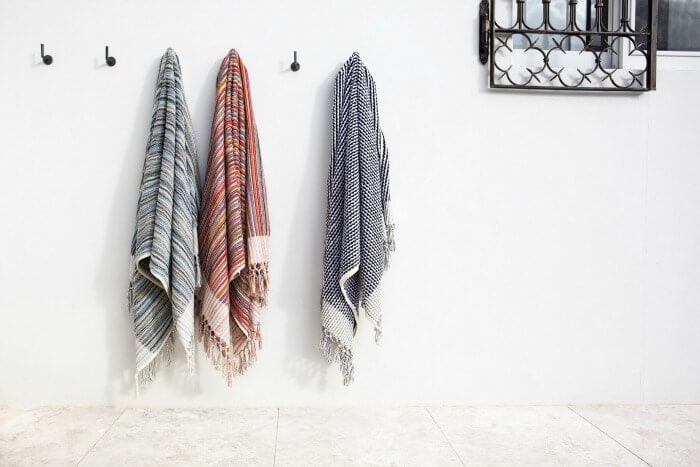 Moroccan Loom Towels by Tigmi Trading