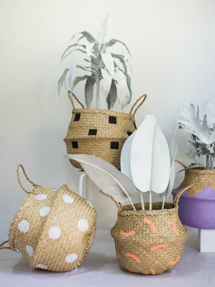 Rattan baskets by Fazeek on The Life Creative blog