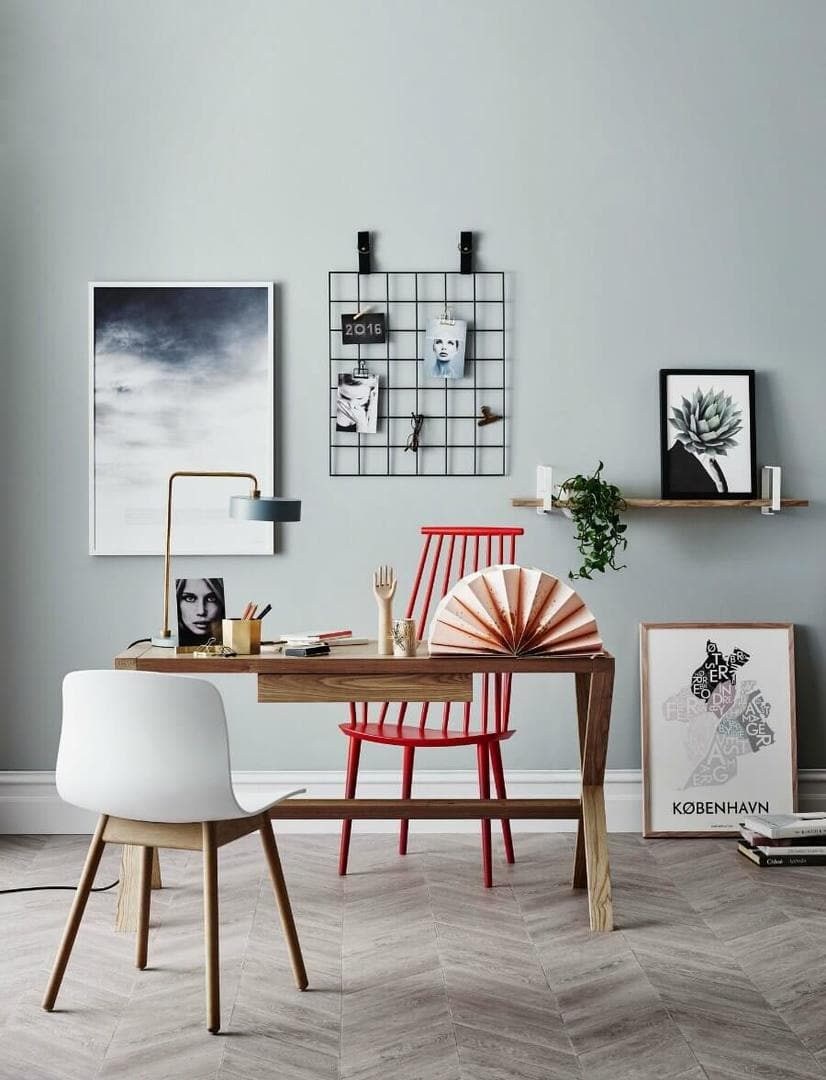 Scandi Office from Norsu Interiors Scandinavian Style on The Life Creative