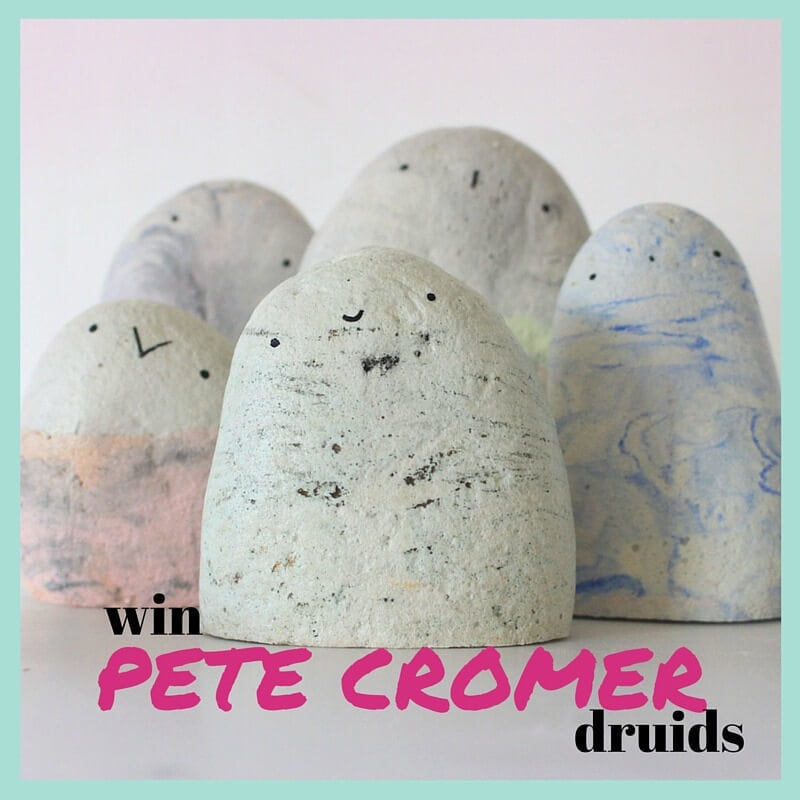 win a family of Pete Cromer Druids on The Life Creative