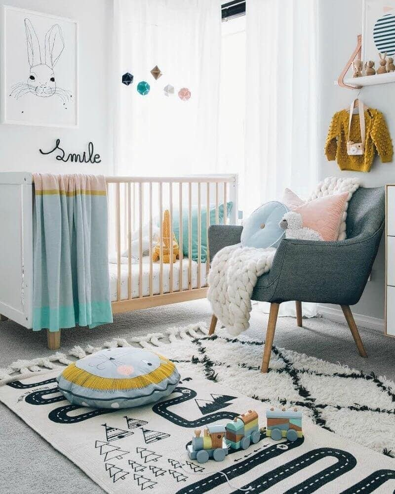Bloomingville kids room decor from Wiggles Piggles on TLC Interiors