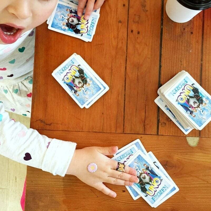 Frozen Uno Cards Kids Activities and Travel Games