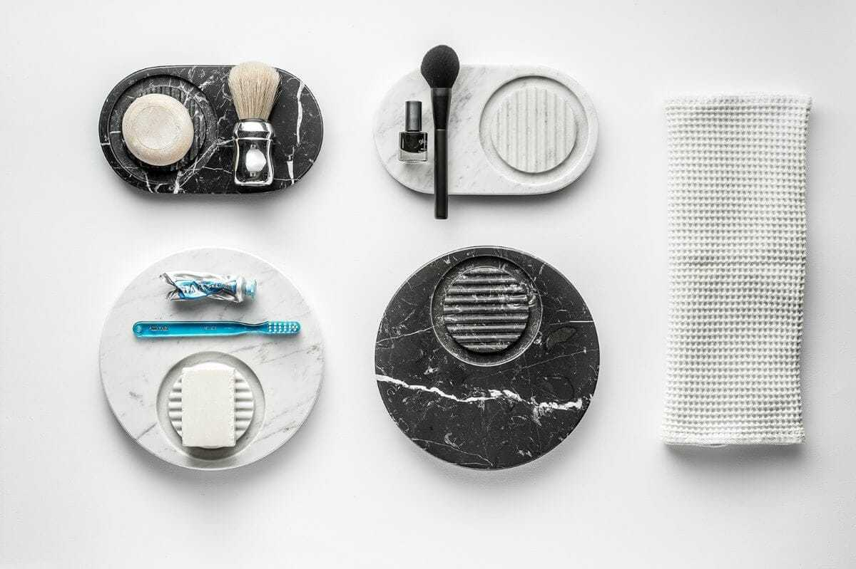 Marble Bathroom Accessories from Marmo on TLC Interiors