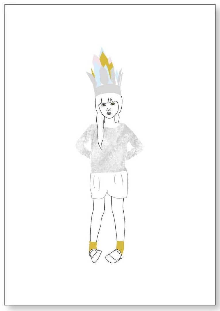 Ragdoll Illustrations Teepee Girl Art for Kids The Life Creative