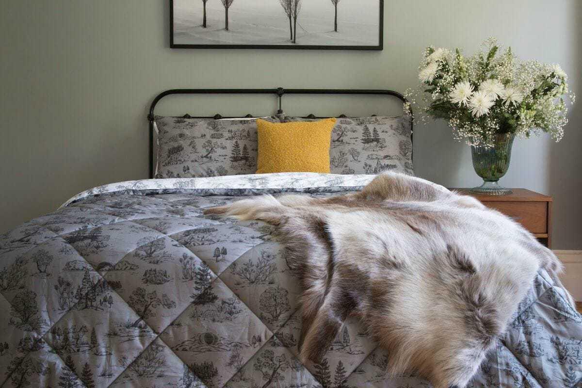 Sanctuary Boutique Linens Winter Solstice bedding