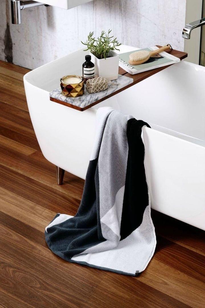 Sunday Minx Shadow Bath Towel The Life Creative