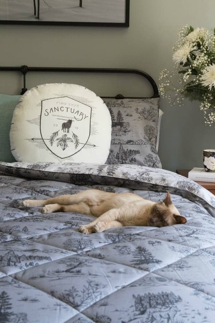 Winter Solstice Bedding Quilted Bedding by Sanctuary Boutique Linens