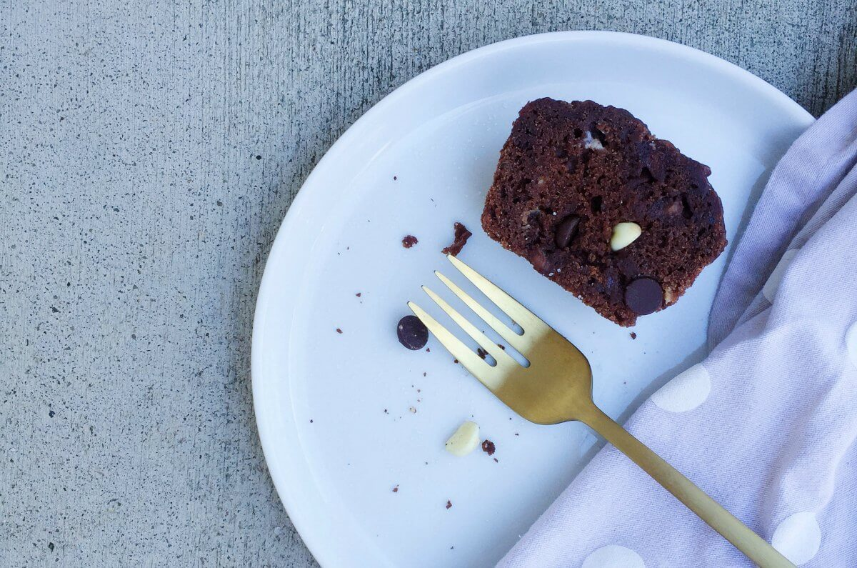 chocolate muffin recipe choc chip muffin gold fork