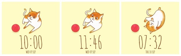 Hey Kitty Kitty watch face