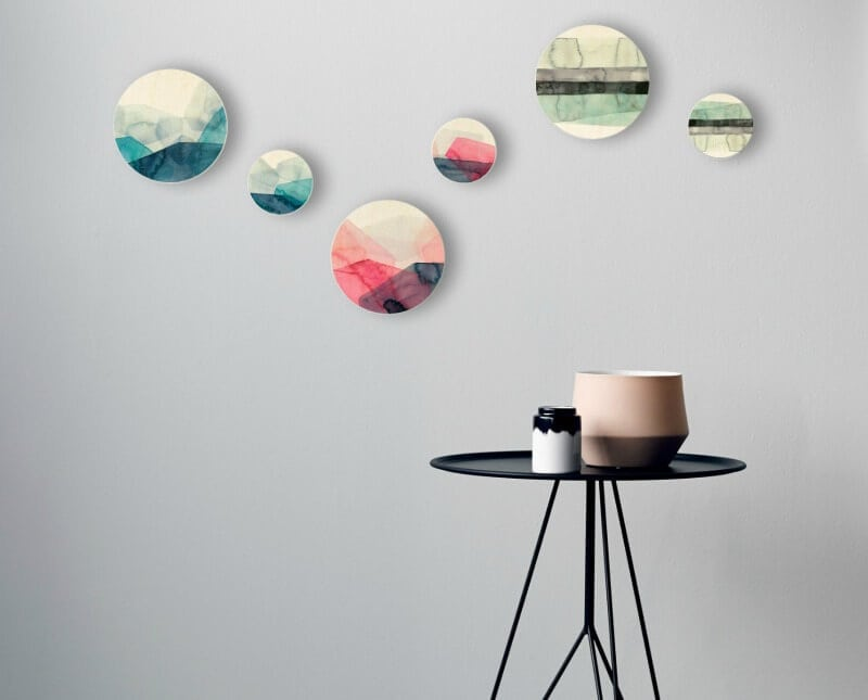 Paper Empire Foruu wall hook painterly homewares on the life creative