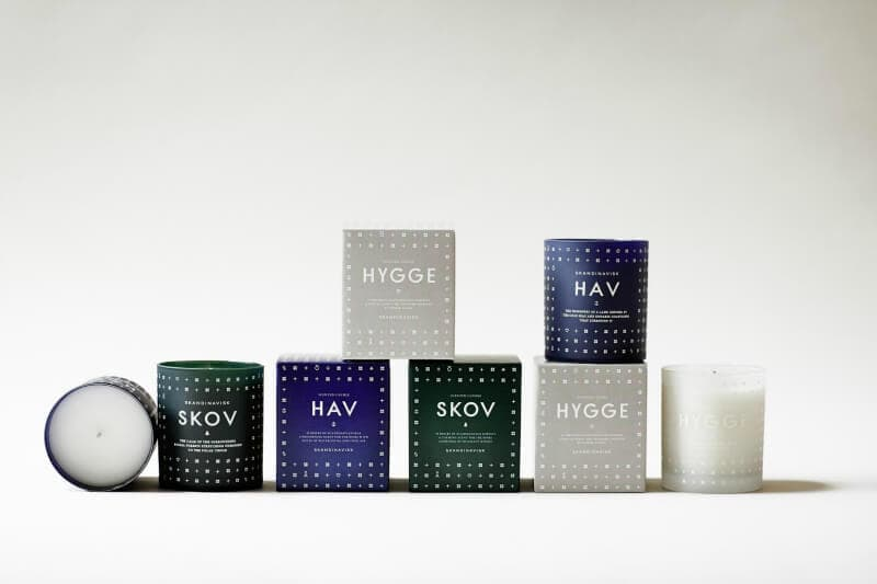 Skandinavisk candle range via norsu interiors on the life creative