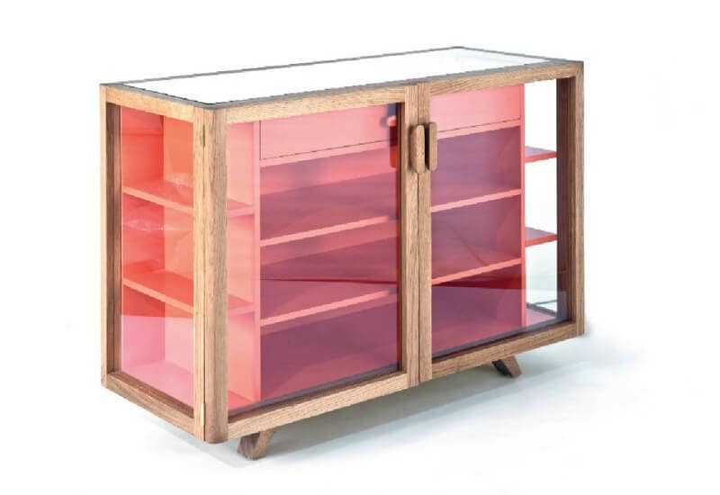 Vitrina small sideboard from aero designs on the life creative