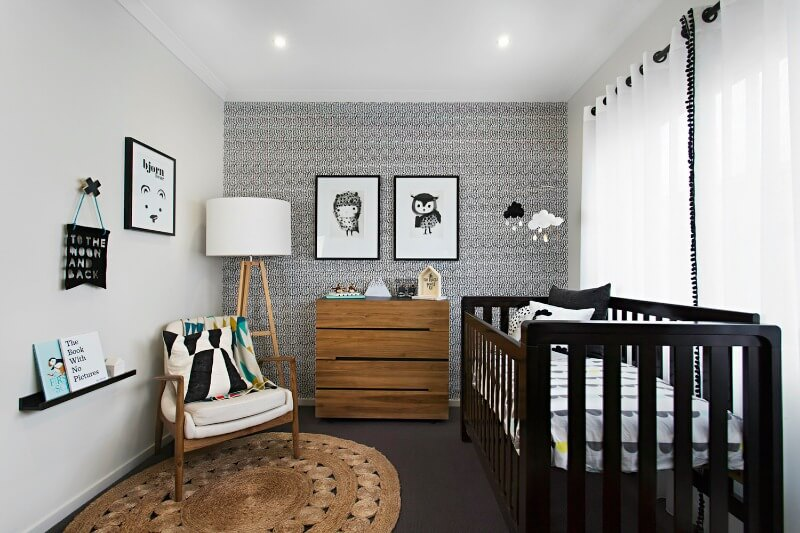 How To Style A Black Or Brown Nursery Without It Feeling Dark Tlc Interiors