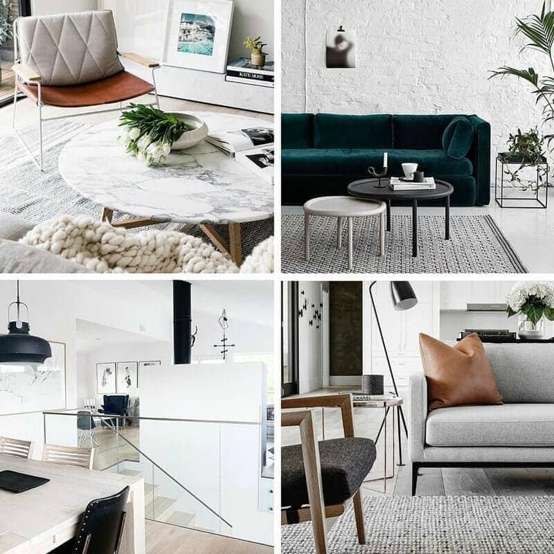 grey and white scandi interior design inspiration images the life creative