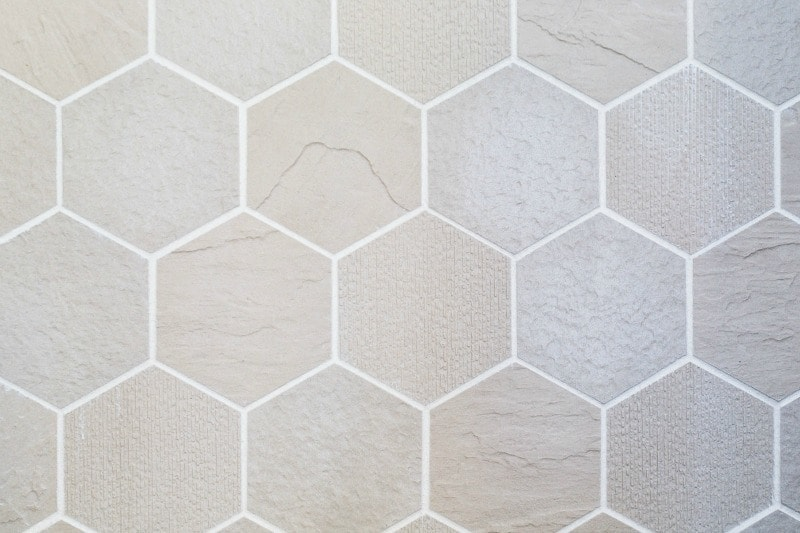 hexagonal stone bathroom wall tiles from metricon
