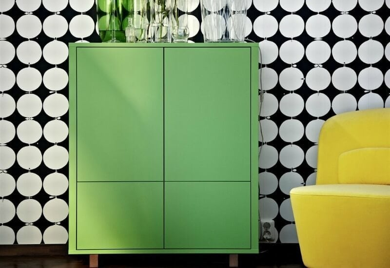 ikea stockholm cabinet green sideboard on the life creative