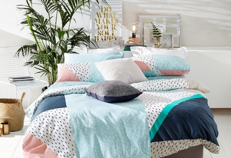 kmart august 2016 bedding range do what makes your soul happy print