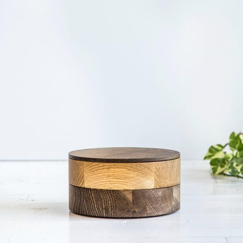 nathan and jac interiors aston wooden round storage box