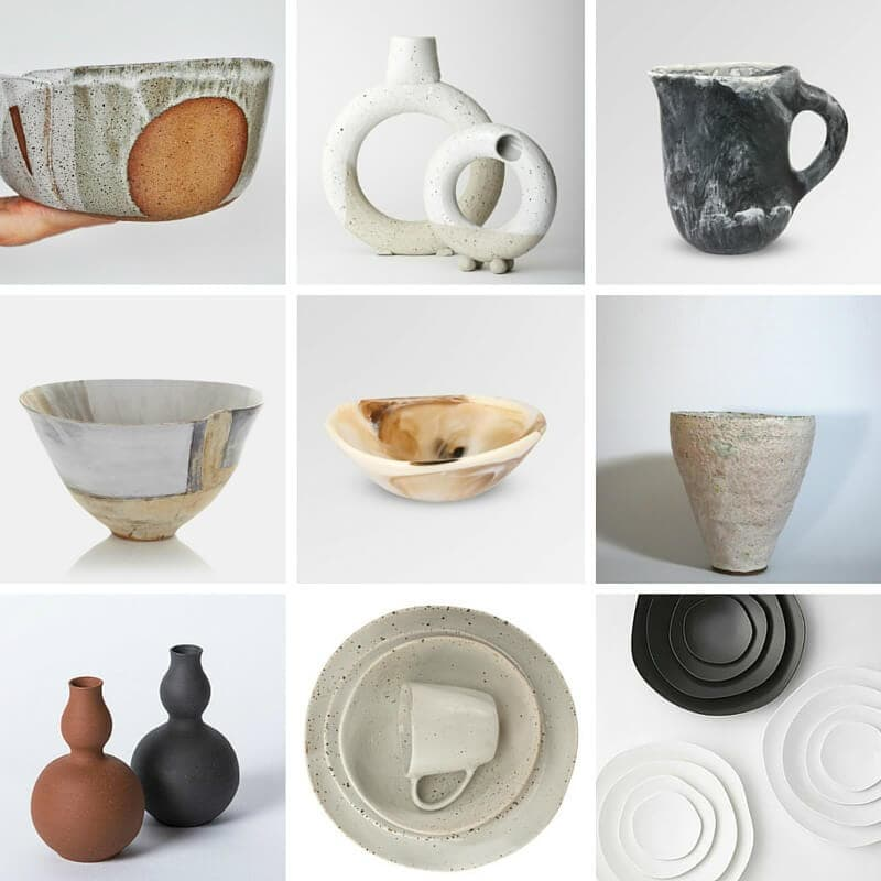 organic shapes in design on the life creative blog