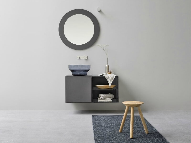 prodotti glass basin for bagthroom scandi bathroom ideas coloured glass trend