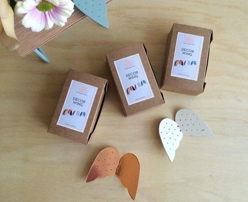 rainy sunday decor wings in gift box