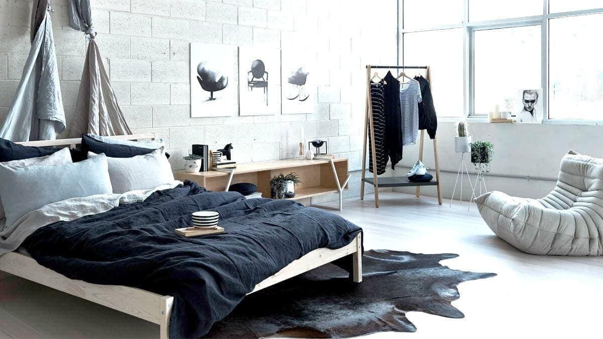 how to create the ultimate scandinavian bedroom. Black Bedroom Furniture Sets. Home Design Ideas