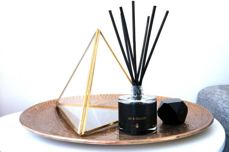 tanda lily and ginger reed diffuser with black oil the life creative
