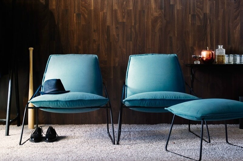 Villstad Easy Chair In Blue From Ikea Occasional Chair For Man Cave