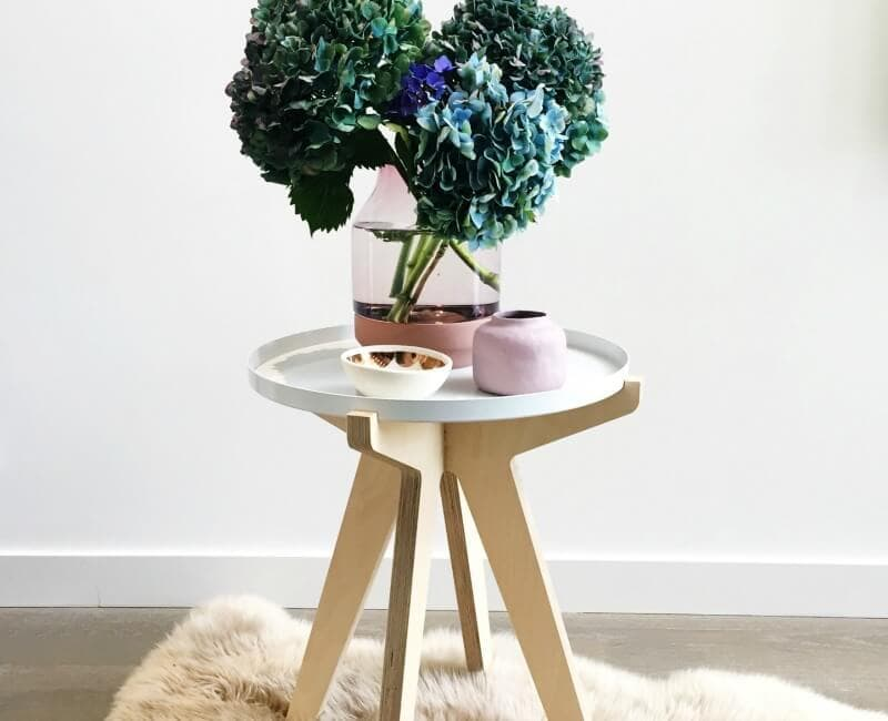 LUUM Simply Side Table alternative bedside table ideas on the life creative