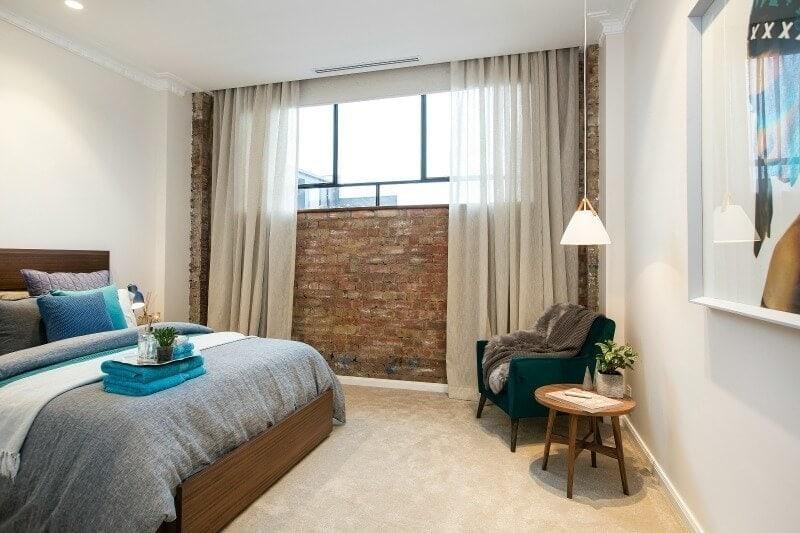 The Block 2016 week 4 guest bedroom reveals kim and chris guest bedroom 1