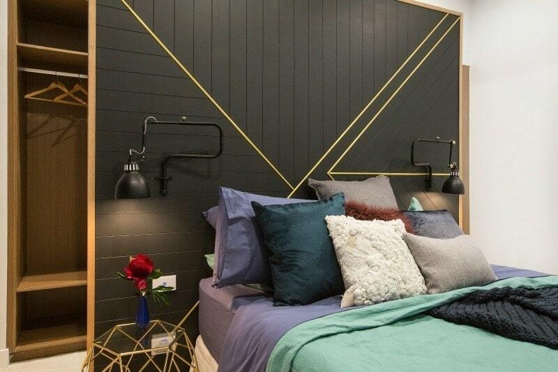 The Block 2016 week 4 guest bedroom reveals will and karlie guest bedroom 1