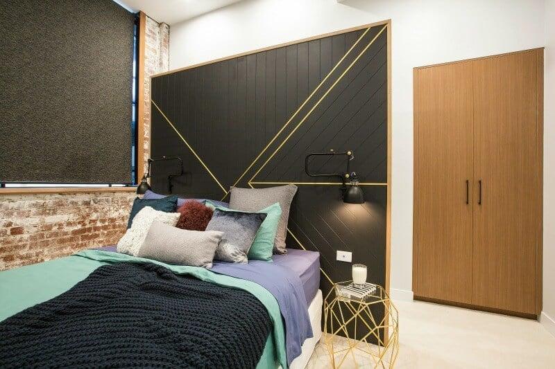 The Block 2016 week 4 guest bedroom reveals will and karlie guest bedroom 2