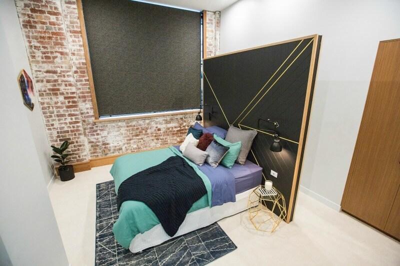 The Block 2016 week 4 guest bedroom reveals will and karlie guest bedroom 3