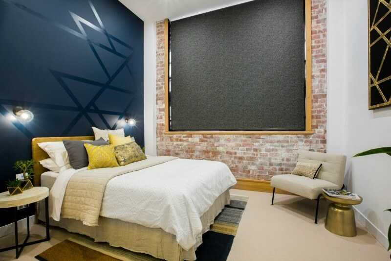 The Block 2016 will and carly guest bedroom reveal 1