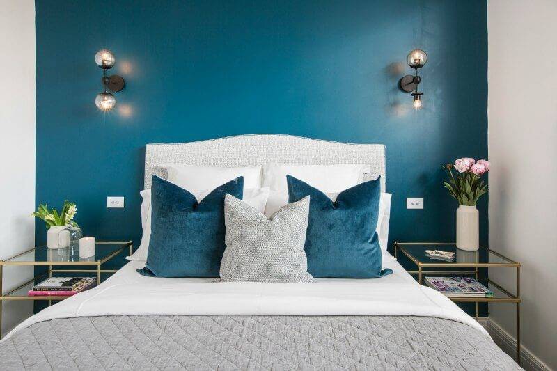 The block 2016 julia and sasha guest bedroom reveal 1