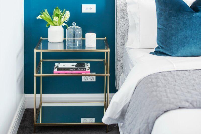 The block 2016 julia and sasha guest bedroom reveal 4