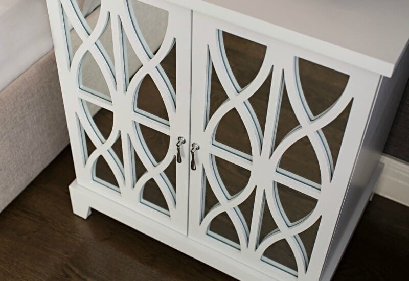 hamptons-style-cabinet-with-geometric-panels-and-mirror-finish