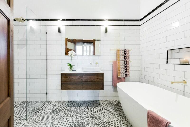 Inside The Block 2016 Week 3 Master Bathroom Reveals Tlc Interiors
