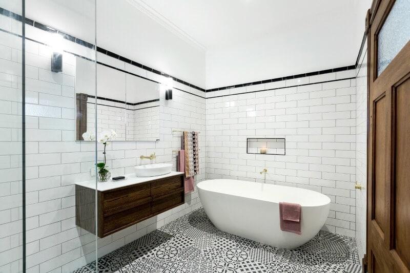 the block 2016 master bathroom reveals dan and carlene master bathroom 3