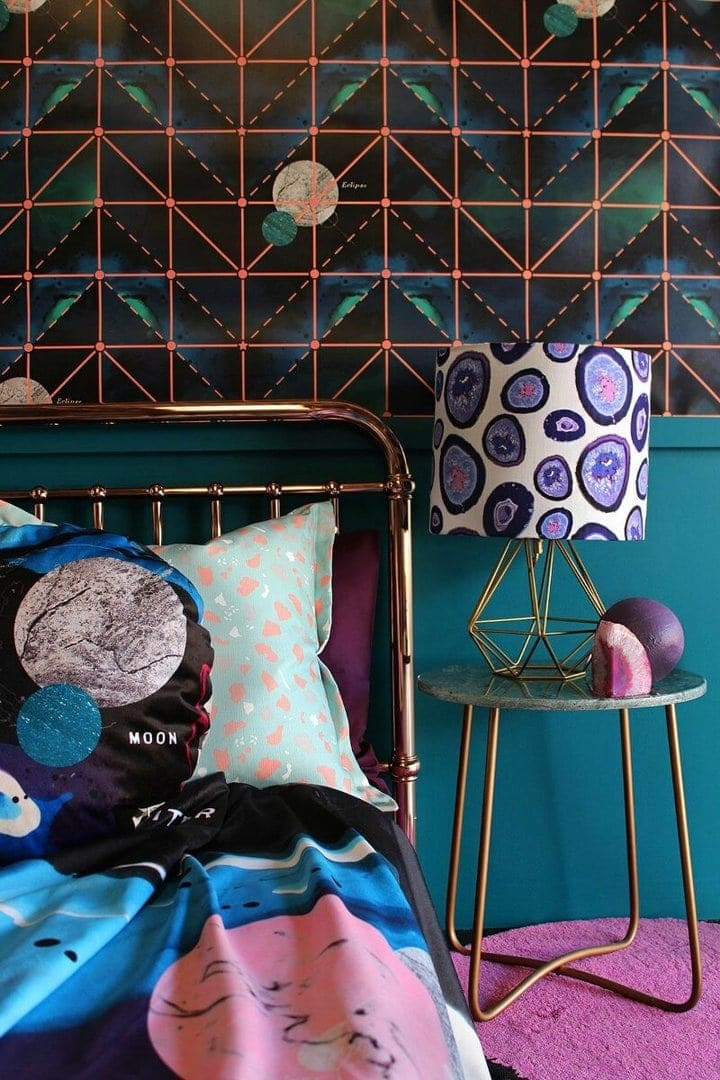 tim neve and sparkk celeste fabric and wallpaper collection