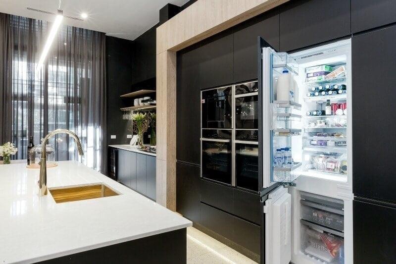 the-block-2016-karlie-and-will-kitchen-hidden-fridge