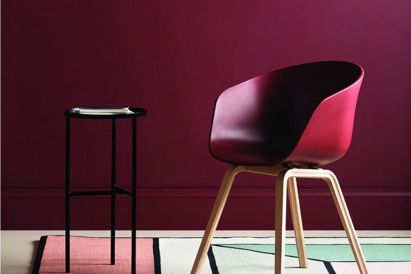 deep-maroon-feature-wall-from-haymes-paint