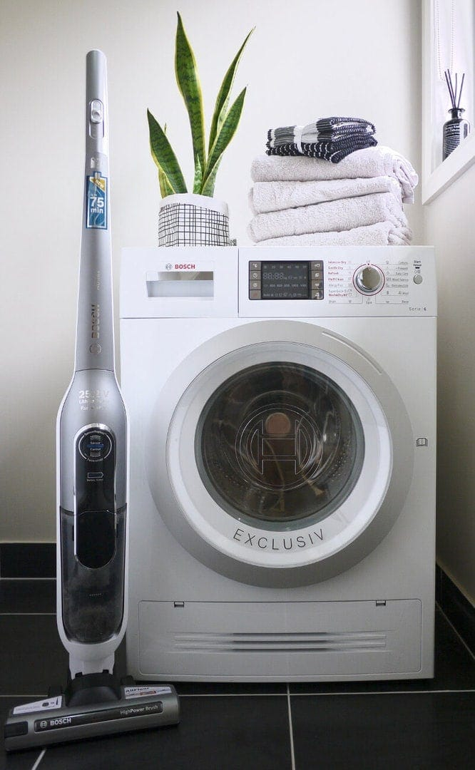 Bosch washer dryer and vacuum cleaner review