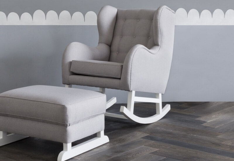 Hobbe rocking chairs for nursing mums at life instyle sydney 2017