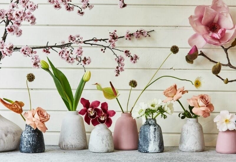 Keep Resin at life instyle sydney pink resin vases