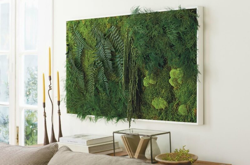 indoor vertical garden art interior design trends 2017 - Garden Design Trends 2017