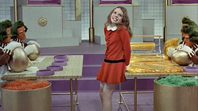 veruca salt from willy wonka and the chocolate factory