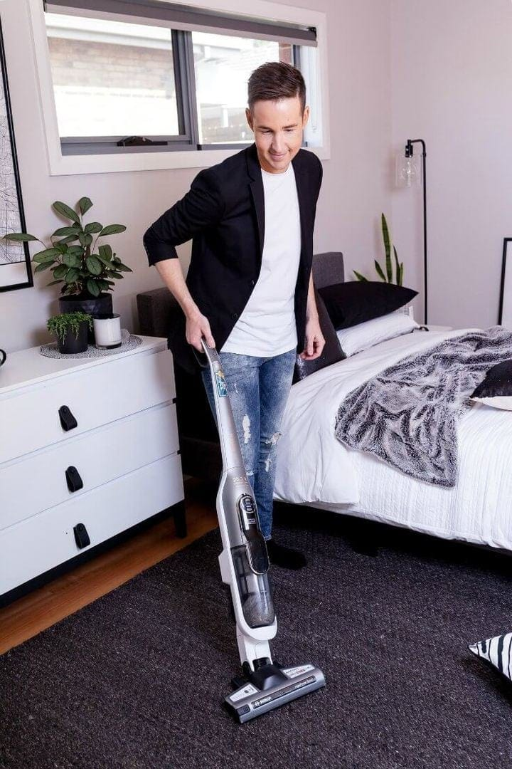 Bosch cordless vacuum cleaner review by chris carroll from the life creative